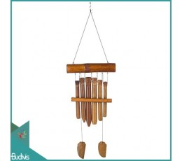 Bali Out Door Hanging Group Bamboo Wind Chimes