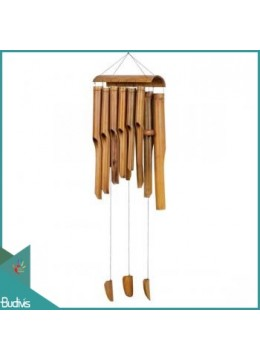 Large Out Door Hanging Bamboo Wind Chimes Angklung