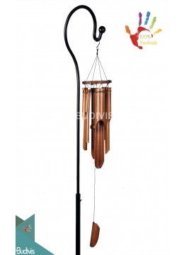 Top Model Out Door Hanging Minimalist Bamboo Wind Chimes