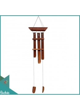 Manufactured Out Door Hanging Simple Bamboo Wind Chimes
