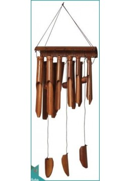 Top Out Door Hanging Angklung Bamboo Wind Chimes