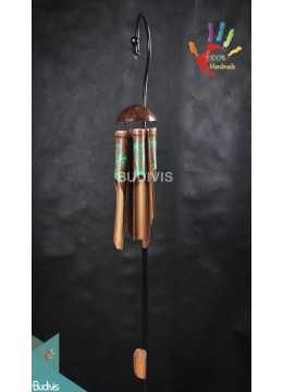 Out Door Hanging Windchimes Coco Tree Hand Painting
