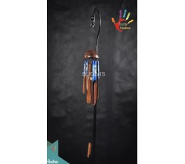 Beach Panting Out Door Hanging Bamboo Windchimes