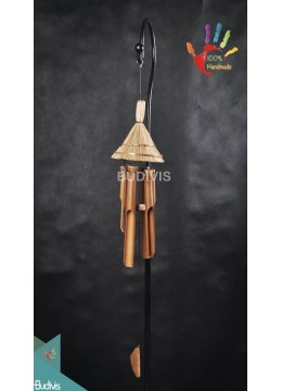 Bali Wholesale Roof Out Door Hanging Bamboo Windchimes