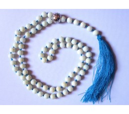 Beaded Tassel Necklace Knotted