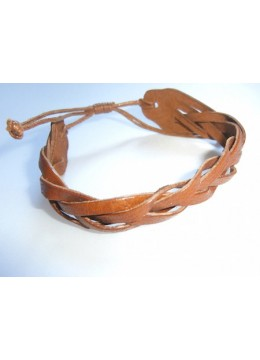 Leather Bracelet Sliding