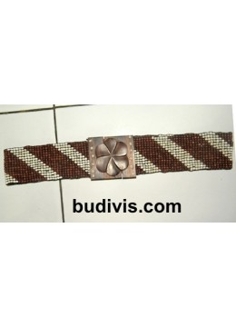 Beaded Stretch Belt