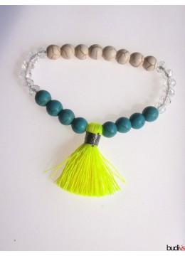 Tassel Bracelet Beaded Stretch