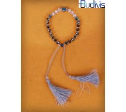 Bracelet Crystal Tassel Knotted