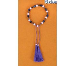 Bracelet Tassel Crystal  Knotted