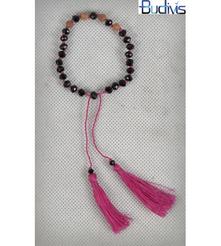 Tassel Bracelet Crystal Thread