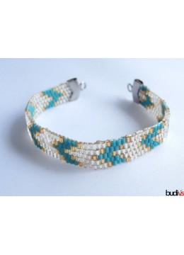 Miyuki Beaded Bracelet Stainless