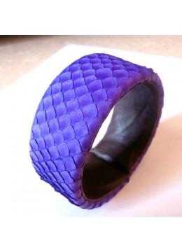 Leather Snake Bracelet