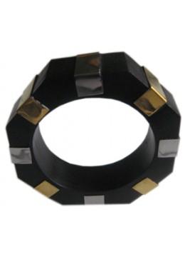 Wood Bracelet Stainless