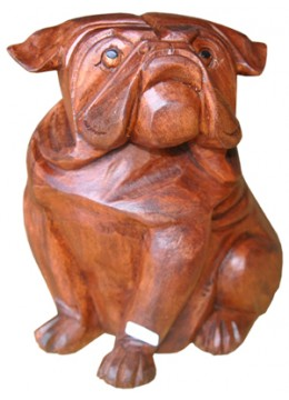 Bulldog Animal Statue