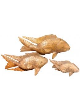 Fish set of 3 Animal Statue