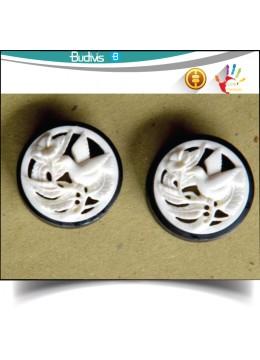 Bone Plug Ear Body Piercing