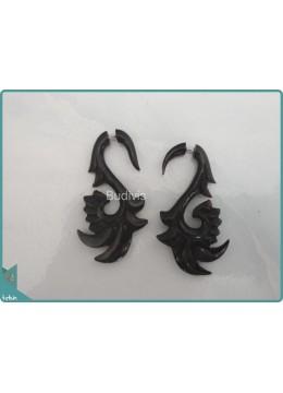 Wooden Crafting Earrings Sterling Silver Hook 925