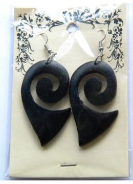 Unique Wood Earring