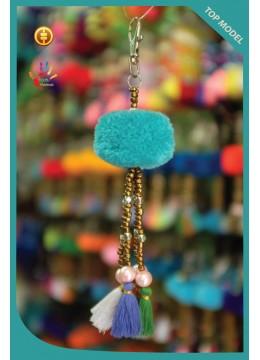New! Tassel Keychain Pom Pom