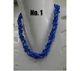 Beaded Twisted Necklace