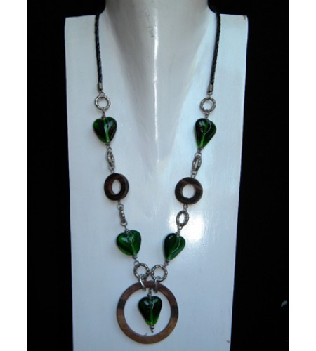 Beaded Glasses Necklace