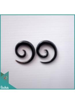 From Bali Spirall Black Horn Body Piercing