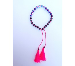 Tassel Bracelet Crystal Knotted