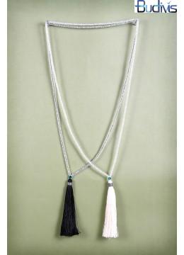 Long Neon Tassel Necklace
