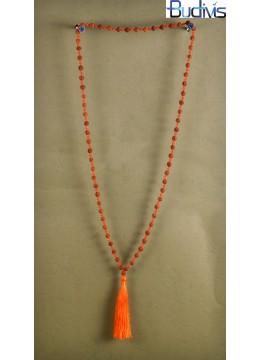 Long Tassel Necklaces Big Crystal