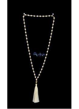 Long Large Crystal Tassel necklaces