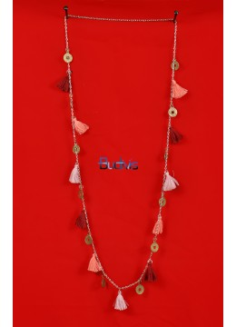 Long Chain Multi Tassel Necklaces
