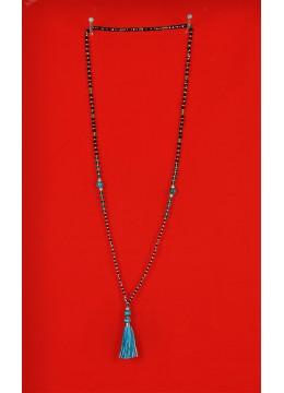 Boho Chic Tassel Long Necklace