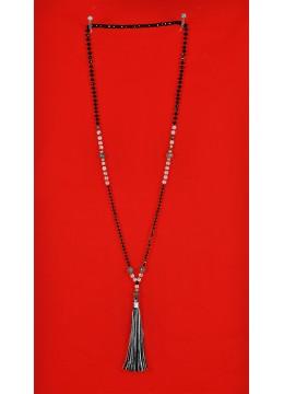 Boho Chic Muti Tassel Long Necklace