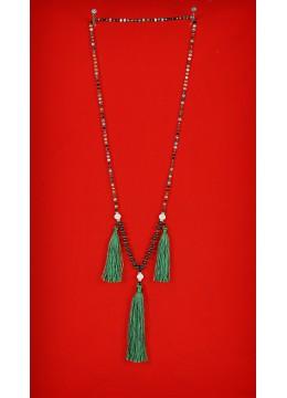 Boho Chic Multi Tassel Necklace in Handmade