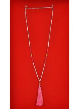 Boho Chic Tassel Necklace Gemstones