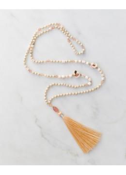 Boho Chic Tassel Necklace in Handmade