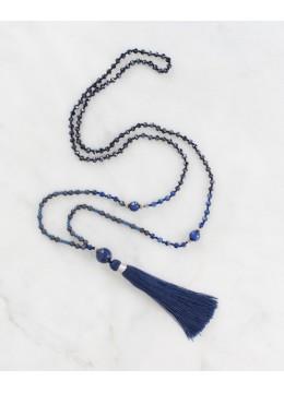 Boho Chic Tassel Necklace Mala