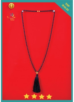 Bali Mala 108 Lava Long Hand Knotted Necklace