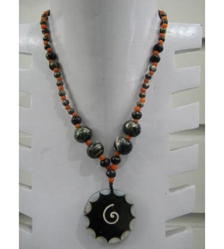 Beaded Necklace Pendant