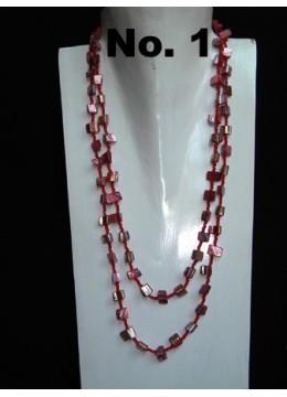Beaded Necklace Multi Strand