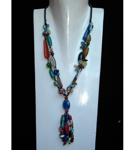 Necklace Glass Classic