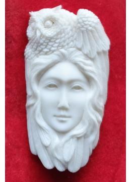Top Sale Bali Bone Carved Pendant Spirit
