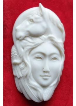 Wholesale Bali Bone Carved Pendant Spirit Model