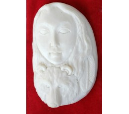 Best Model Bali Bone Carved Pendant Spirit Model