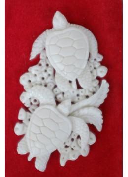 Manufacturer Bali Bone Carved Pendant Spirit Model