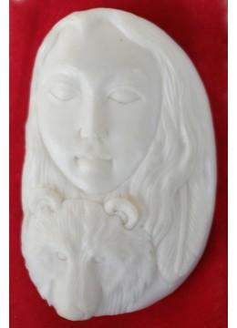 Wholesale Bali Bone Carving  Pendant Spirit