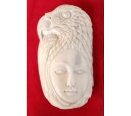 Bali Bone Carving  Pendant Spirit Production