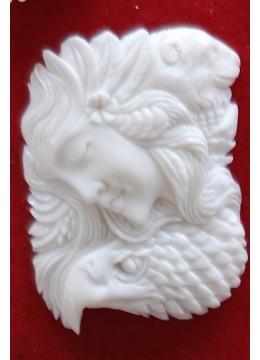 Top Sale Bali Spirit Bone Carved Pendant