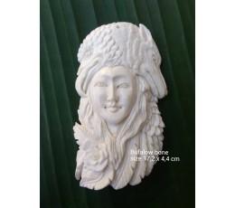 Best Model Bali Ox Bone Carved Carved Pendant Spirit Model